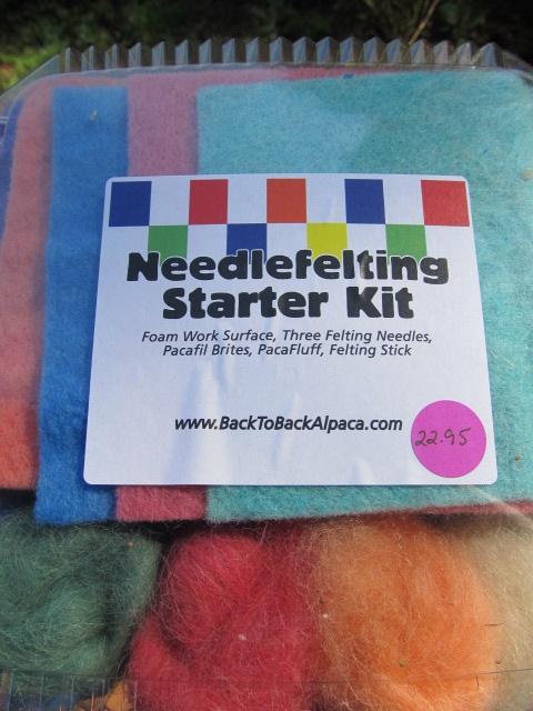 Needlefelting Starter Kit